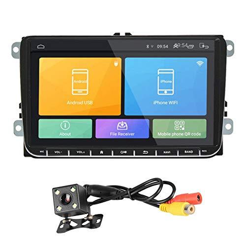 GPS-navigatieapparaat, GPS, navigatie voor auto, Volkswagen, Skoda Golf 5, Golf 6, Polo, Passat, B5, B6, JETTA, TIGUAN, DTS BT RDS, 9
