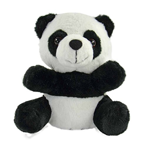 Kögler 75917 - Laber Panda Chen, Labertier mit Aufnahme- und Wiedergabefunktion, plappert alles witzig nach und bewegt sich, ca. 17,5 cm groß, ideal als Geschenk für Jungen und Mädchen