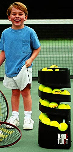 Sports Tutor Tennis Twist - Ball Tosser for Kids - Battery Powered