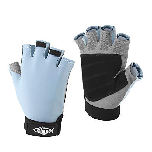 Palmyth UV Fishing Gloves Sun Protection Fingerless Kayaking Glove Men Women UPF...