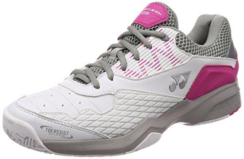 ヨネックス メンズテニスシューズ パワークッション103 SHT103 ホワイト ピンク