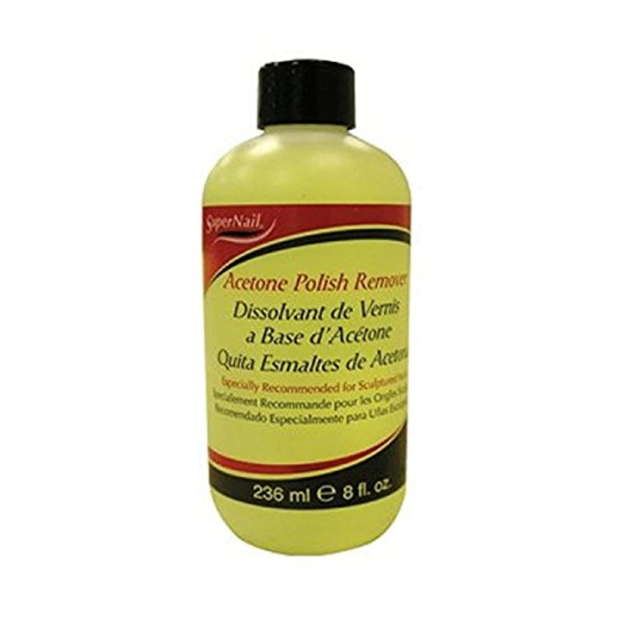 Super Nail Acetone Polish Remover, 8 Ounce
