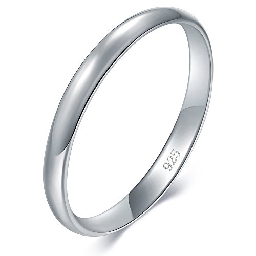 BORUO 925 Sterling Silver Ring