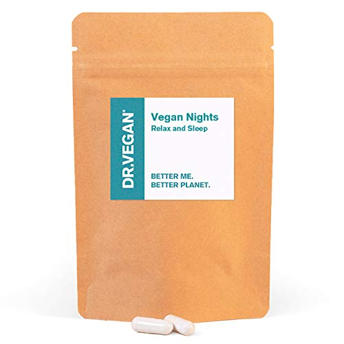 DR.VEGAN Vegan Nights, 30 Vegan-Friendly Capsules | One or Two a Day
