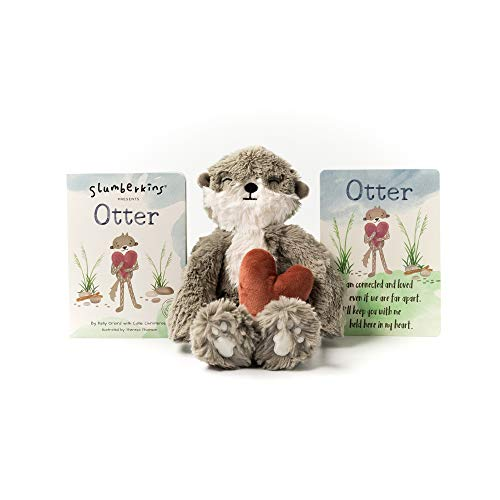 Slumberkins Otter Kin & Book | Deepens Family Bonds | Social Emotional Tools for Ages 0+