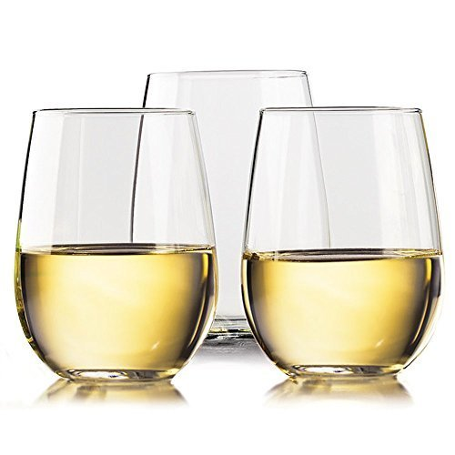 Unbreakable Outdoor Stemless Wine Glasses 20...