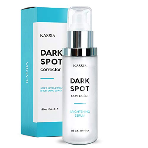 KASSIA Dark Spot Corrector for Face and Body, Formulated with Advanced Ingredient 4-Butylresorcinol, Kojic Acid, Lactic Acid and Salicylic Acid, Hamamelis Virginiana Water