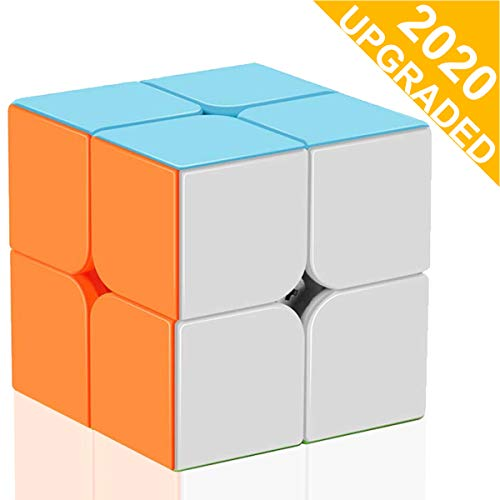 KidsPark Zauberwürfel 2x2x2 Speed Cube Stickerless Magic Puzzle Würfel