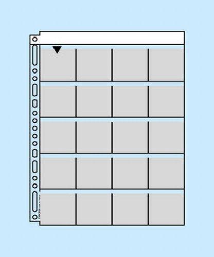 Panodia p010001Blatt transparente für von Dias 5x 5cm, PAR 10