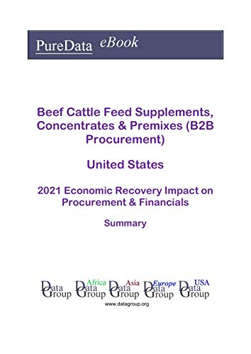 Beef Cattle Feed Supplements, Concentrates & Premixes (B2B Procurement) United States Summary: 2021 Economic Recovery Impact on Revenues & Financials