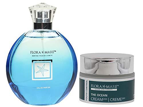 FLORA MARE 360° Augenbalm Youth Control 30ml + Eau de Parfum - 100ml