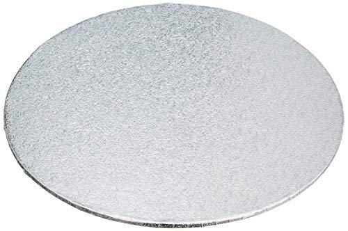 Decora 0931301 DÜNN TORTENPLATTE Silber Ø 18 cm H 3 MM 7'