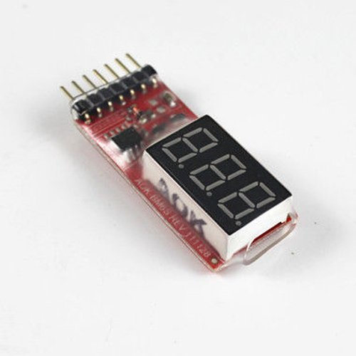Dcolor 2S-6S 2-6S RC Batterie Lipo Basse Tension Alarm Indicator Compteur Verificateur Testeur Test