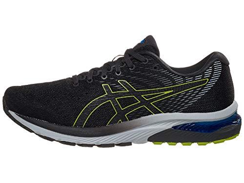 ASICS Men's Gel-Cumulus 22 Running Shoes, 10M, Graphite Grey/Lime Zest