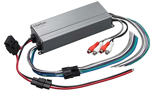 Cheapest Prices! Clarion XC1410 300W XC Series Micro 4-Channel Class-D Compact Design Car Amplifier