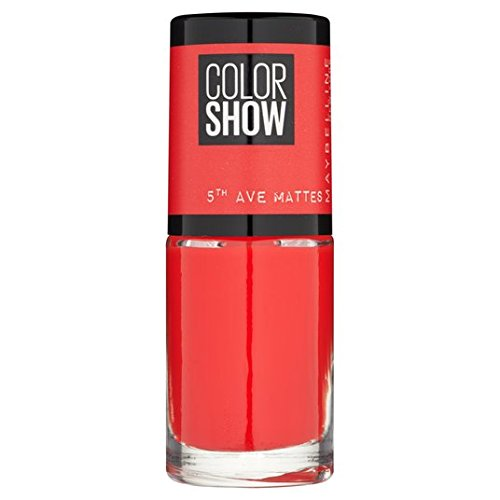 Maybelline Nail Color Show 5th Ave Matte, trafic d'arrêt 455