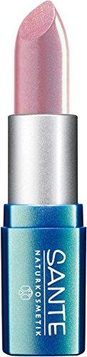 SANTE Naturkosmetik Lipstick No. 01 light pink, Lippenstift, Transparente bis intensive Farben, Zart pflegend & sanft schützend, 4,5g