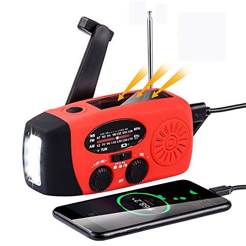 防災 ラジオ 懐中電灯 防災懐中電灯ラジオ 大容量 充電式ライト・ラジオ ソーラー緊急ラジオ 防災グッズ 非常用 照明 器具 2000mah ラジオライト 手回し充電 USB充電 欠かせないもの 使いやすい 小型 JPV056