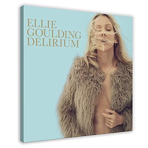 Ellie Goulding Album copertina Delirium tela poster decorazione camera da letto sport paesaggio ufficio decorazione cornice regalo 70 x 70 cm