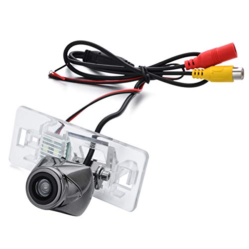 aSATAH Hawk Eye Metal Car Rear View Camera for Audi A1 A3 Q3 A4 A4L S4 RS4 A5 S5 RS5 Q5 A6 A6L S6 A7 S7 TT TTS & Vehicle Camera Waterproof Reversing Backup Camera (Hawk Eye)