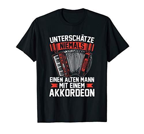 Akkordeon Ziehharmonika Harmonika Musik Akkordeonspieler T-Shirt