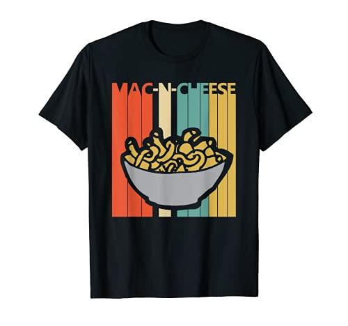 Vintage Macarrones con queso Camiseta