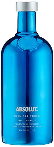 Absolut Vodka Electric Limited Edition Silver/Blue (1 x 0.7 l)
