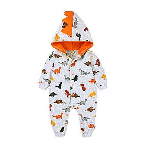 Hirolan Baby Kleidung Jungen Mädchen Fee Kostüm Kinder Strampler Overall Winterjacke Onesie Unisex Cartoon Baby Strampelanzug mit Kapuze