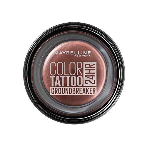 Maybelline New York Color Tattoo Creme-Gel Lidschatten, 230 Groundbreaker, Rot, 53 G