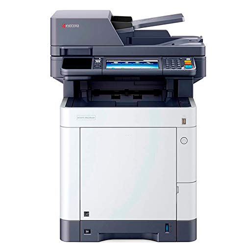 Kyocera Ecosys M6230cidn Impresora Multifuncion Laser Color con Pantalla Táctil (impresión, escáner y Copia; 1200 x 1200 PPP impresión; 600 x 600 PPP escaner y Copia; 30ppm; Interfaz USB 2.0.)