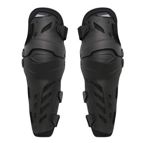 perfecti 1 Paar Knie Ellenbogen Knieprotektoren Motorrad Knieschützer Flexibel Knieprotektor Stabil Knee Schutz Armschützer Protector Schutzausrüstung für Motocross Erwachsene (Schwarz)