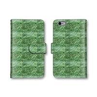 Android One X3 スマホケース 手帳型 芝生 プリント 5番 スマホカバー かわいい おしゃれ 携帯カバー X3 ケース 携帯ケース アンドロイド ワン 保護
