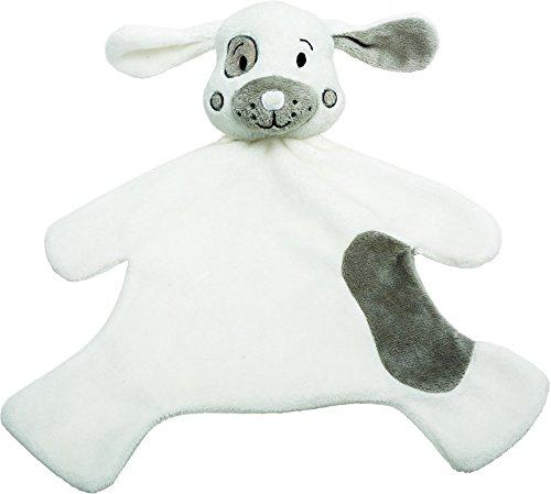 Suki Gifts 10140 Cuddle Tots Hund Schnuffeltuch, grau