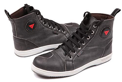 Modeka LANE Motorradstiefel Sneaker Leder - schwarz Größe 40