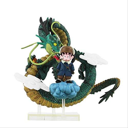 WANGSHAOFENG 18cm Goku Shenron acción Figura Z Son Gokou Colección Modelo Muñecas Juguetes Dragonball Z GT Juguetes Figuras Dragon Ball Super