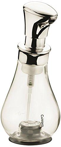Cuisipro Seifenschaumspender, Plastik, Silber, 8.5 x 8.5 x 20.5 cm