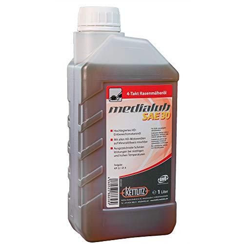 1 Liter KETTLITZ-SAE30 Rasenmäher Öl 4 Takt/Rasenmäheröl/Motoröl