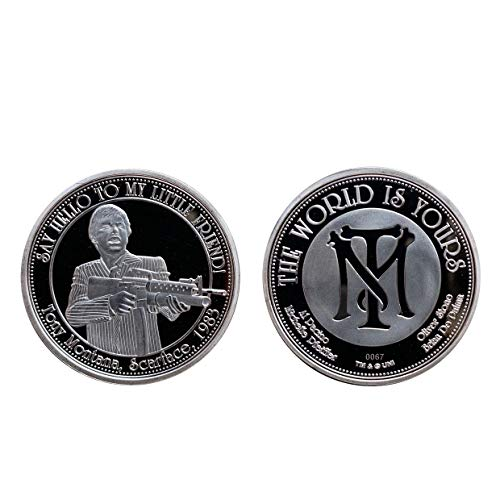 FaNaTtik Scarface Collectable Coin The World Is Yours Coins