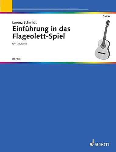 Einführung in das Flageolett-Spiel: 1-3 Gitarren und andere Instrumente. (Kreidler Gitarren-Studio)