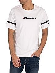Champion Camiseta Gráfica Manga Corta Blanco de los Hombres