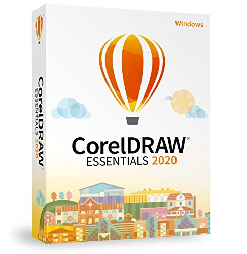 COREL CorelDRAW Essentials 2020 *für Windows 10* - DEUTSCH - BOX (Nachfolger der CorelDraw Home & Student)
