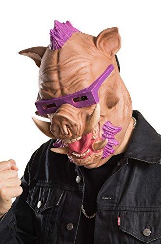 Rubie's Men's Teenage Mutant Ninja Turtles 2 Bebop 3/4 Mask, As Shown, One Size