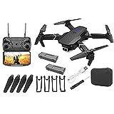 Drone, Drone con fotocamera, E88 Pro Drone per adulti 4K Pro Dual fotocamera Pieghevole Video live...
