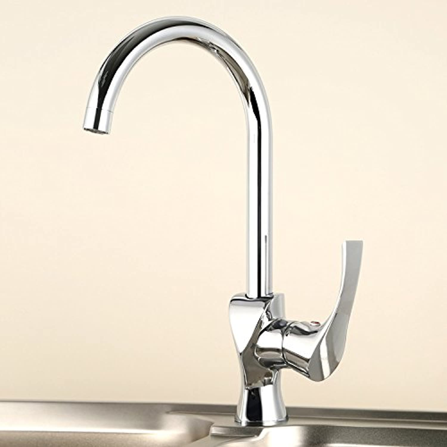 Cold and Hot Mixing Water Faucet Kitchen Kitchen Basin Faucet Hot and Cold Mixed Sink Washing Vegetable Basin Faucet