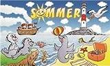 UB Fahne/Flagge Sommer Seehund Strand 90 cm x 150 cm Neuware!!!