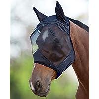 Harrison Howard CareMaster Máscara Anti-Moscas Protección con Orejas Negro (L; Full Size)