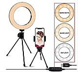 Maquillaje completo profesional, flash de llenado LED, lámpara de flash, luz de anillo LED, luz de selfie, para cámara tik tok blogger