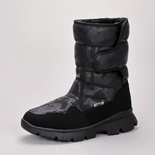 SHENAISHIREN Botas de Nieve for Padres Y Niños for Padres, Zapatos Cálidos for Padres Y Niños, Niños Más Velvitas Zapatos de Algodón Acolchado (Color : E, Size : 36)