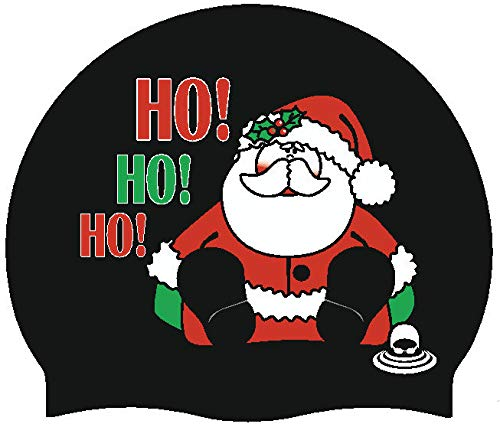 SportySwim Silicone Christmas Swim Caps (Santa)