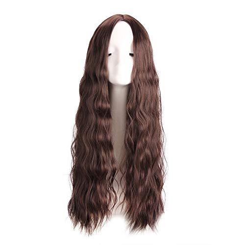YaPin Perruques Perruques de Mode Europe et Amérique Mesdames Longue Perruque de Cheveux bouclés Perruque de Fibre Chimique coiffures